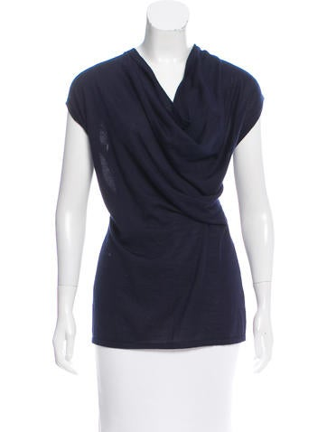 Derek Lam Draped Cashmere Top w/ Tags None