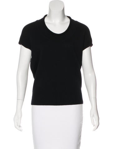 Derek Lam Cashmere Sleeveless Top None