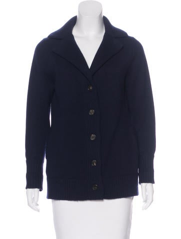 Derek Lam Cashmere Button-Up Cardigan None