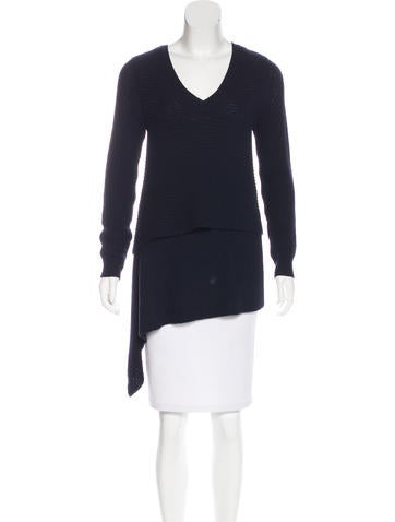 Derek Lam Cashmere Knit Sweater None