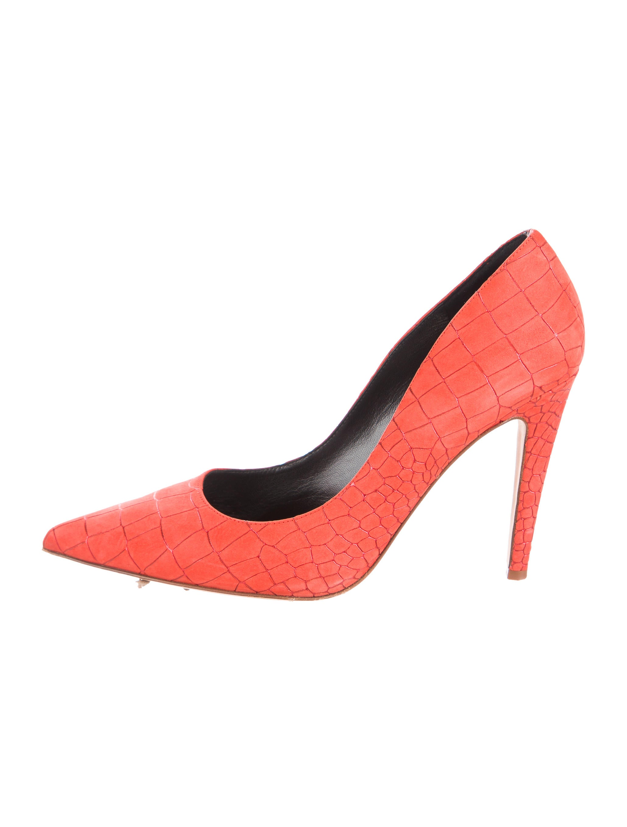 Derek Lam Embossed Suede Pumps how much cheap price outlet perfect big sale cheap online outlet popular free shipping pick a best 0ObaEx