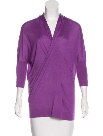 Derek Lam Cashmere & Silk Oversize Sweater None