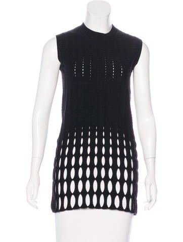 Derek Lam Knit Sleeveless Top None