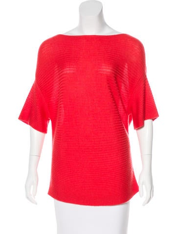 Derek Lam Cashmere & Silk Top None
