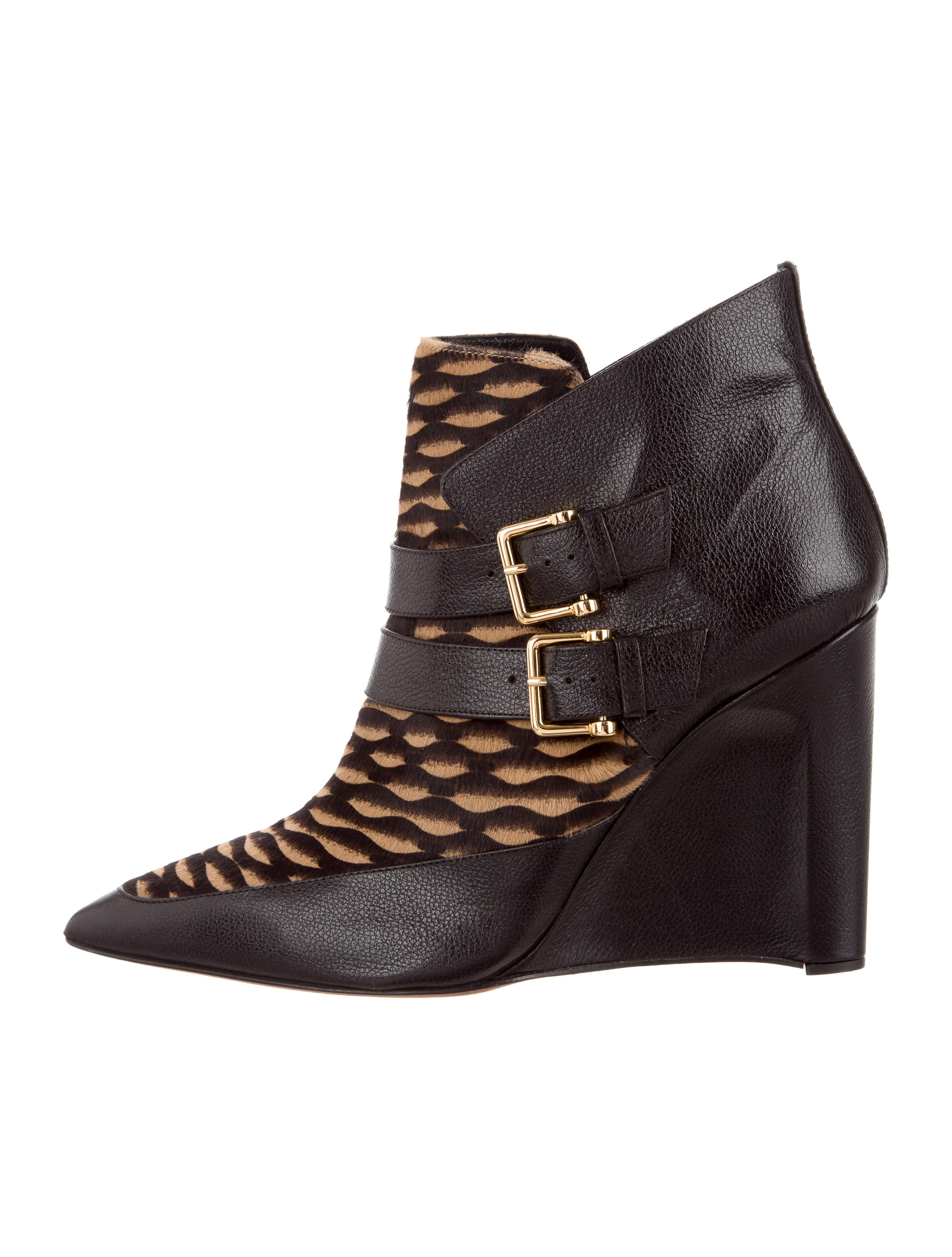 Derek Lam Marta Wedge Boots w/ Tags outlet official site buy cheap Inexpensive best store to get sale online low cost for sale F5WHcL