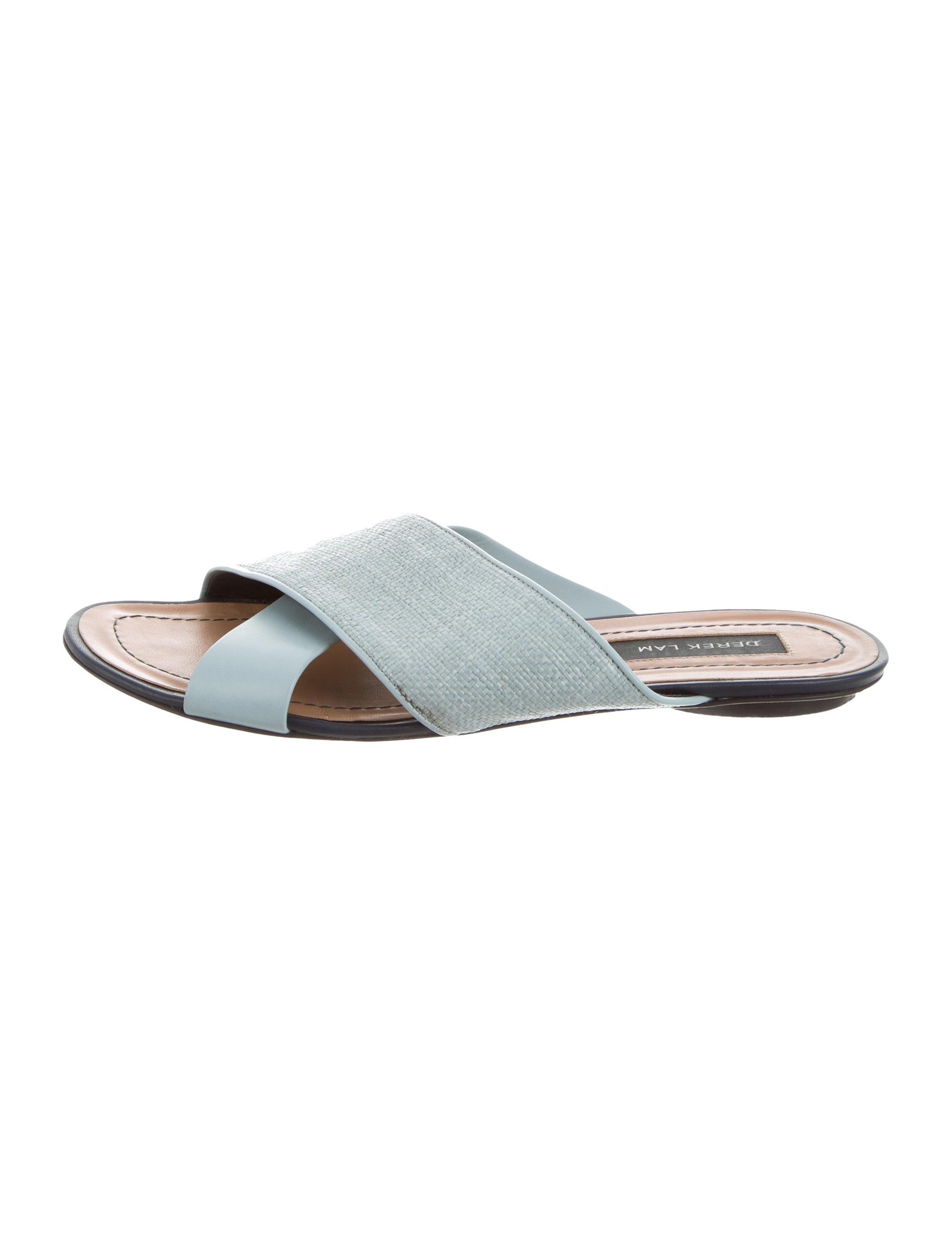 for sale sale online Derek Lam Crossover Slide Sandals outlet marketable low cost sale online HKvZTAP