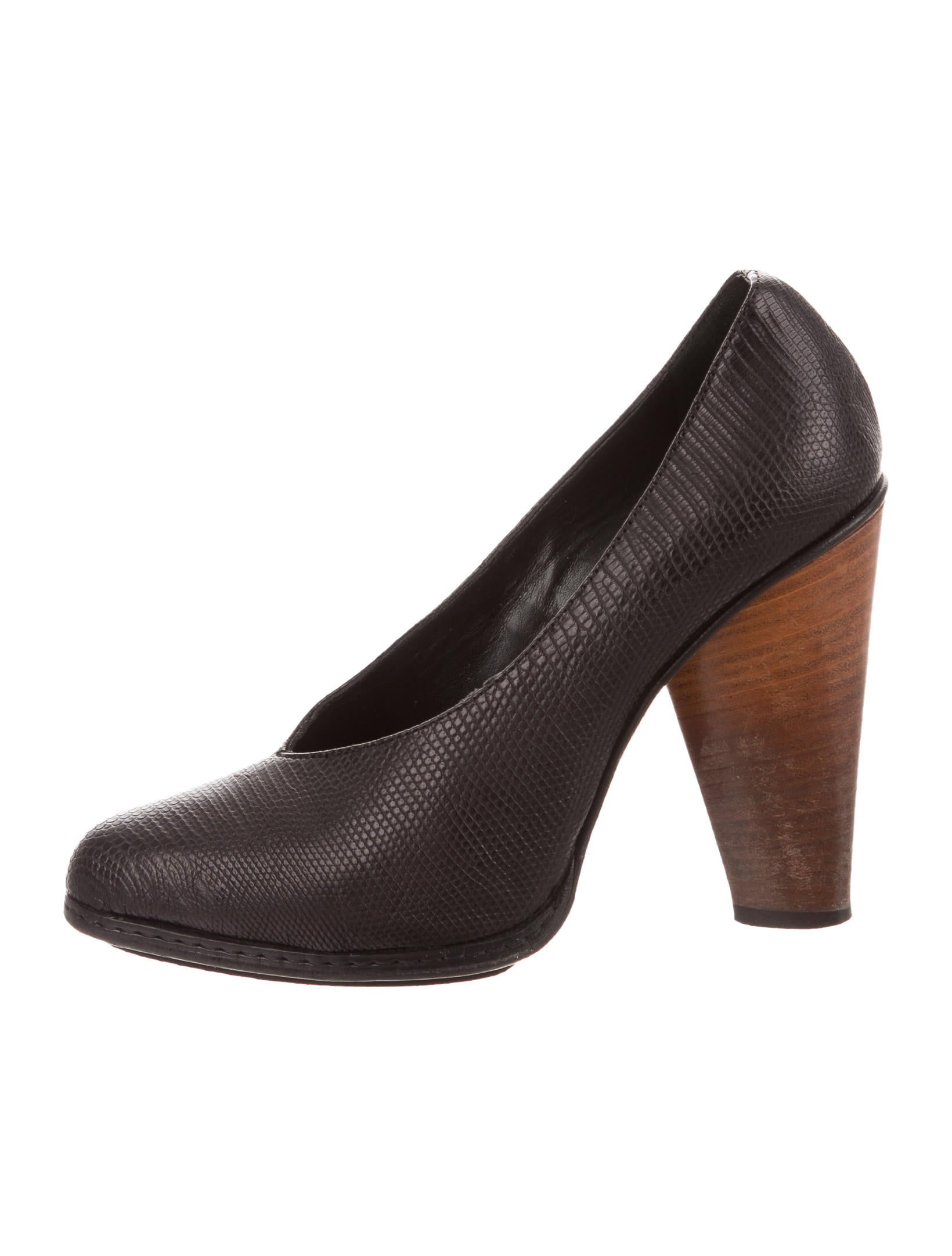 with paypal sale online Derek Lam Leather Semi Pointed-Toe Pumps sale very cheap cheap sale pictures cheap sale best place pmiCow