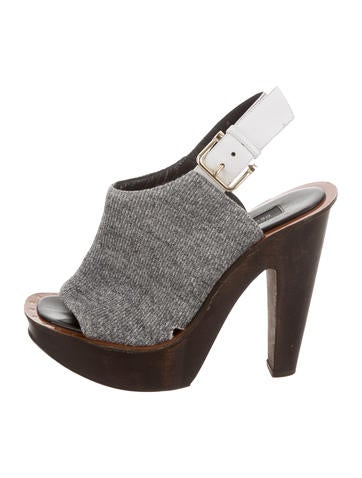 Derek Lam Platform Knit Sandals clearance with credit card cheap footlocker finishline outlet original pay with paypal cheap online chS2P