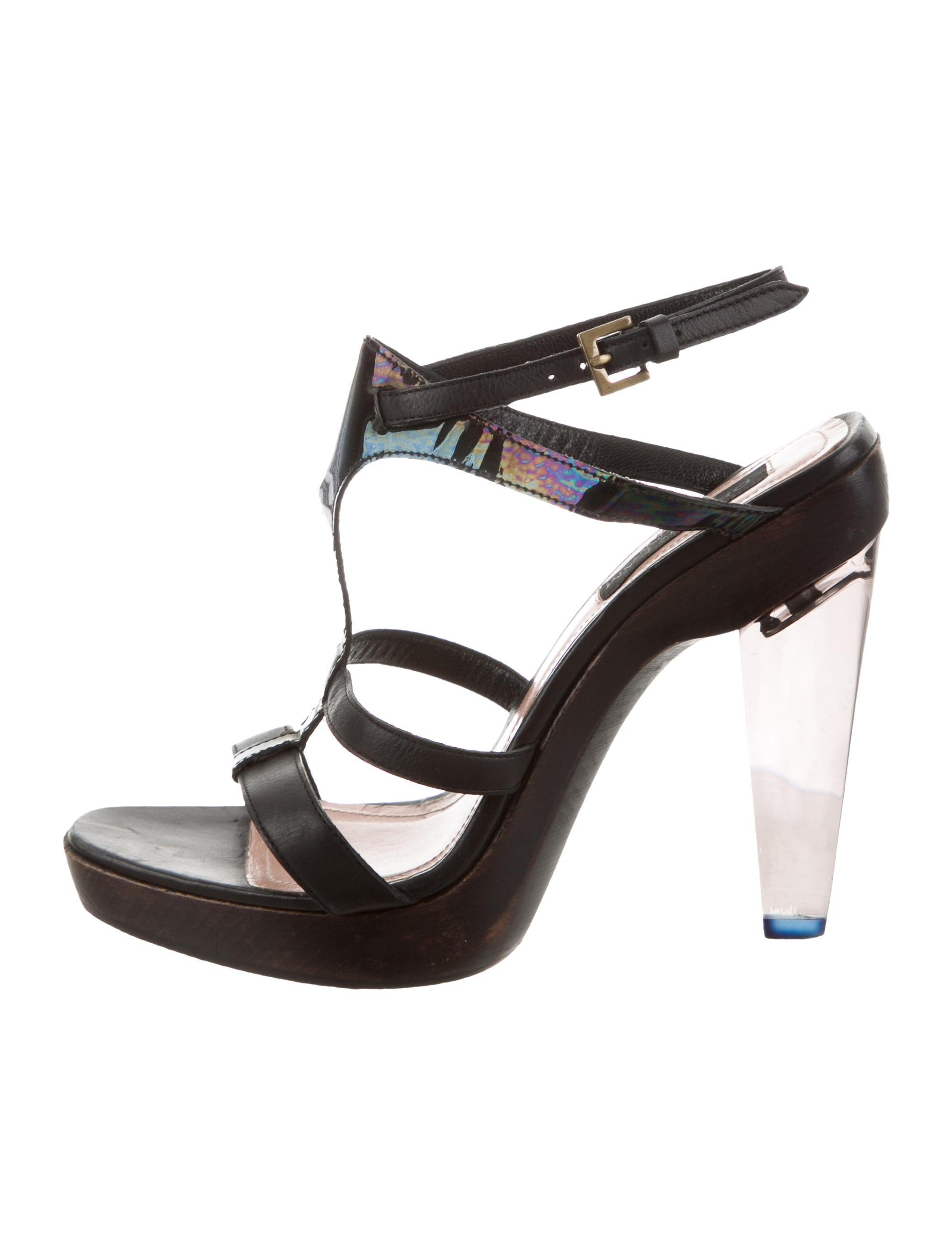 buy cheap amazing price buy cheap visa payment Derek Lam Multistrap Leather Sandals clearance deals affordable cheap online eMUzmWs2