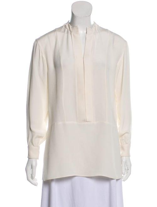 Derek Lam Long Sleeve Silk Blouse
