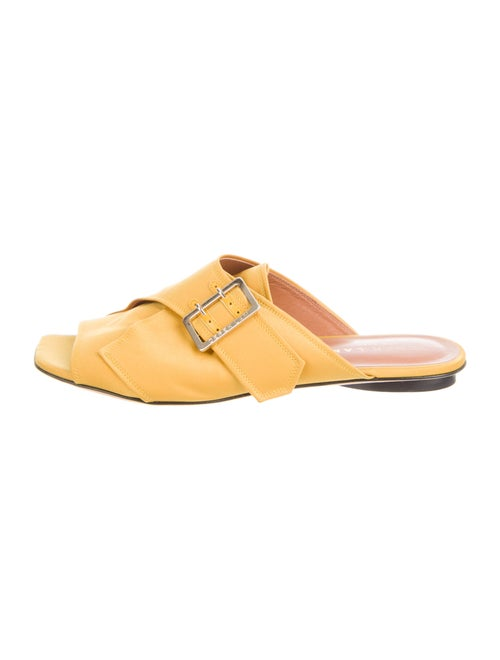Derek Lam Slides Yellow