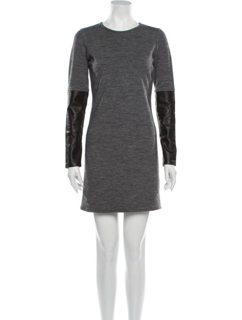 Derek Lam Vintage Mini Dress Grey