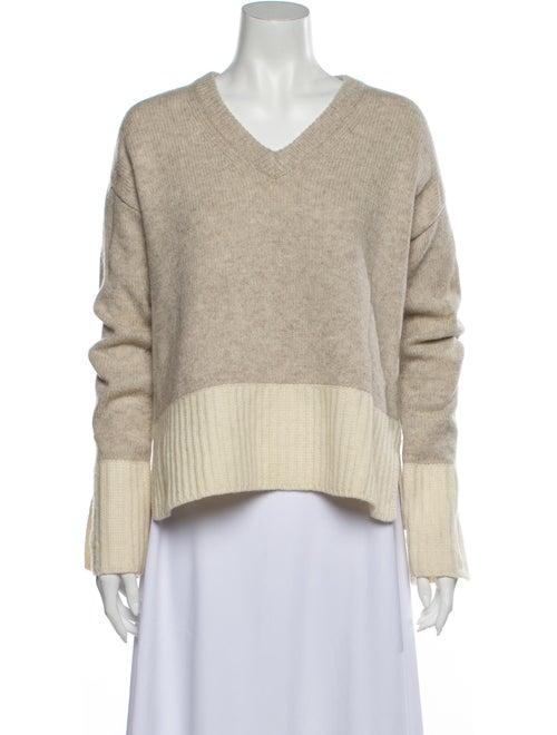 Derek Lam Wool Striped Sweater Wool