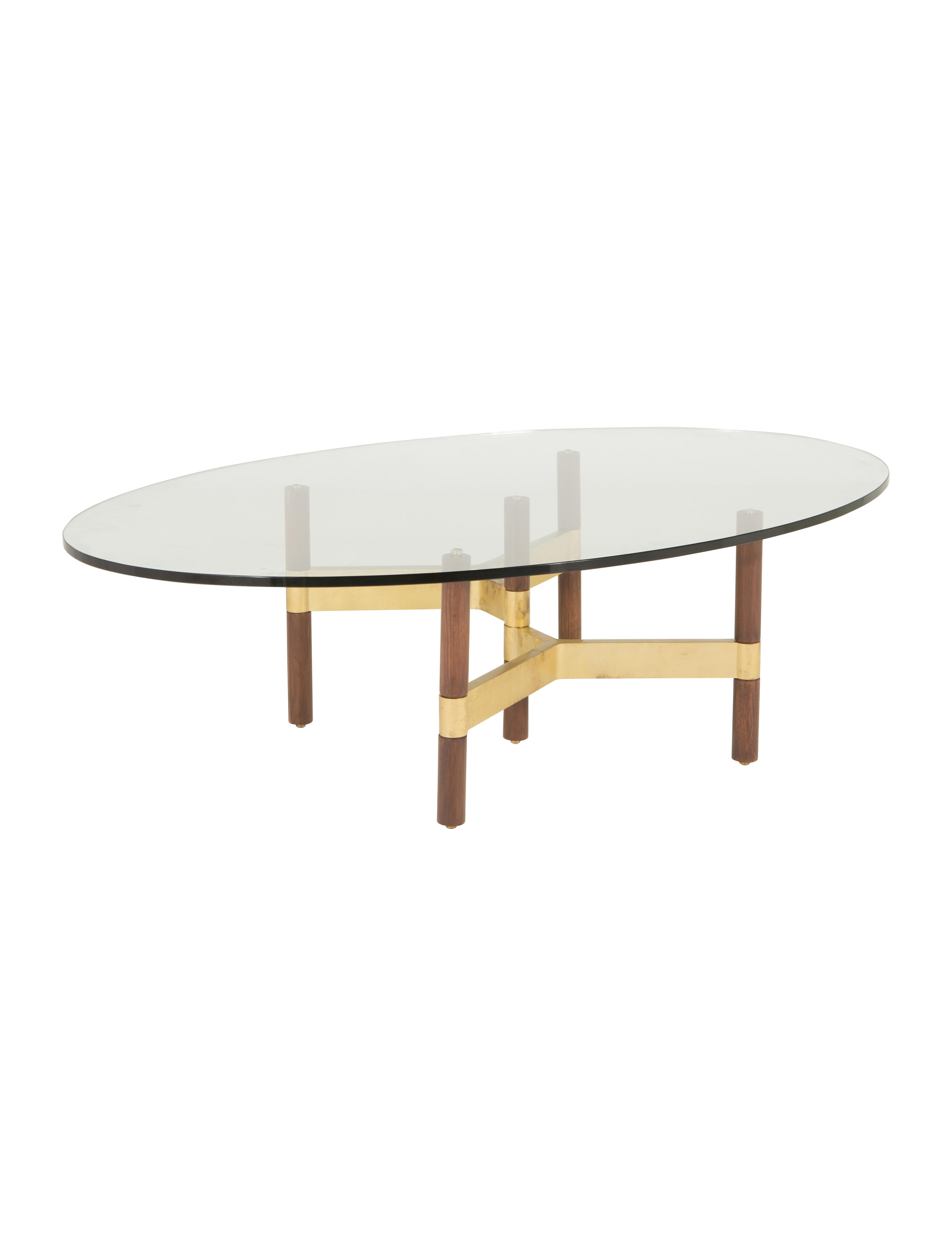 design within reach helix oval coffee table furniture