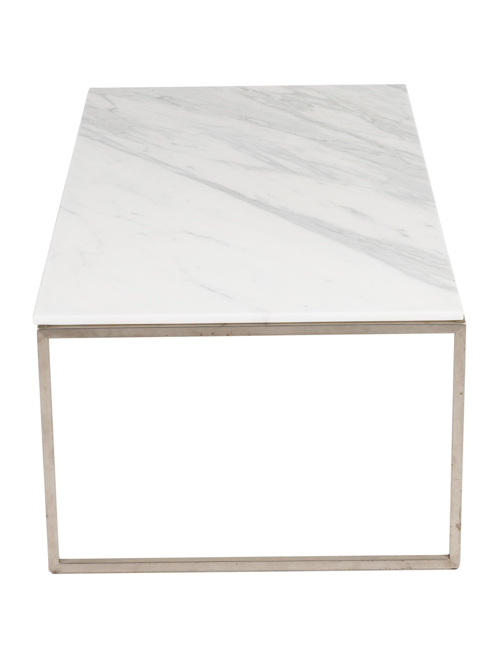 Design Within Reach Rubik Marble Coffee Table Furniture