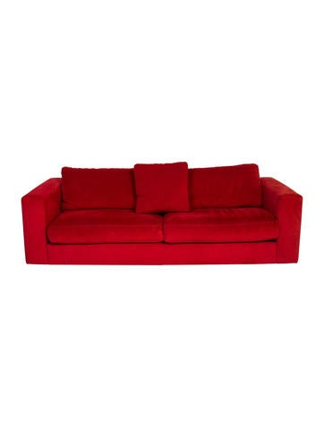 Design Within Reach Reid Ultrasuede Sofa None