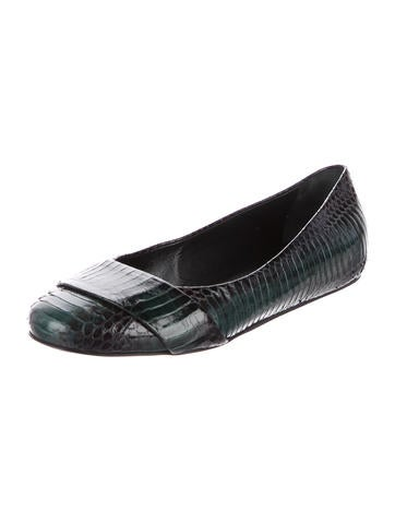 Devi Kroell Bridle Python Flats cheap get authentic buy cheap best wholesale best sale cheap price good selling sale online classic 8YaXkix3O