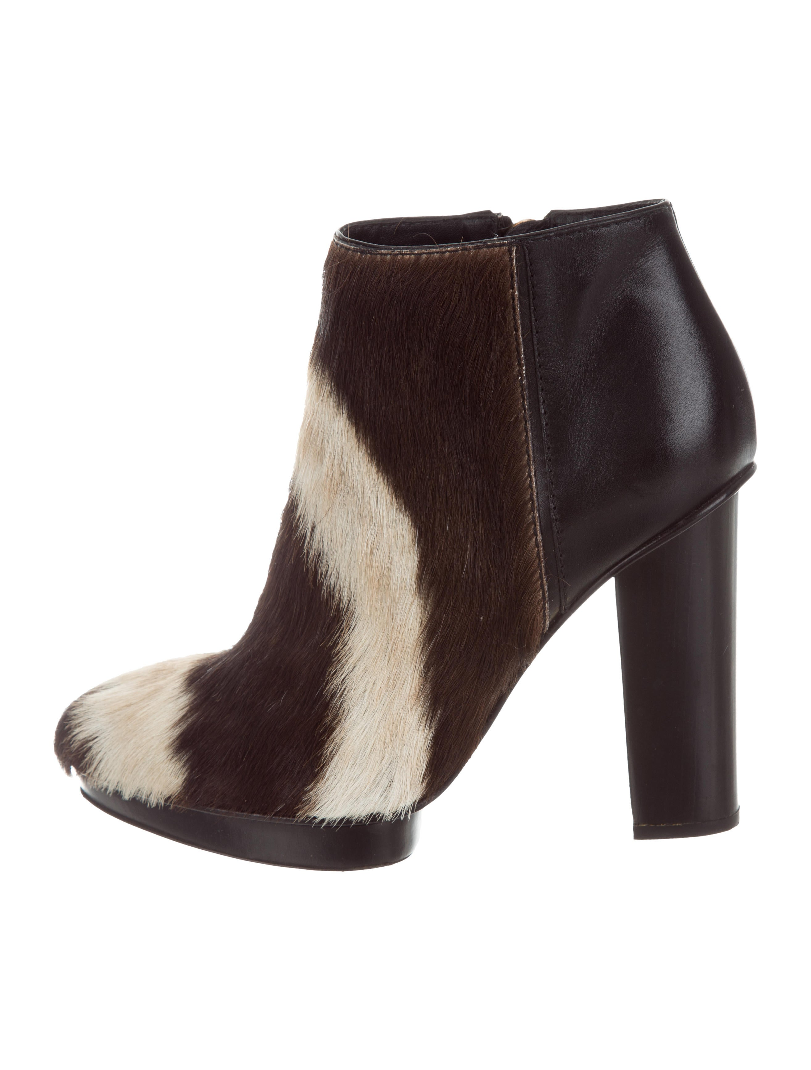 free shipping largest supplier Devi Kroell Ponyhair Printed Ankle Boots cheap online store Manchester WeshFCJ9O6