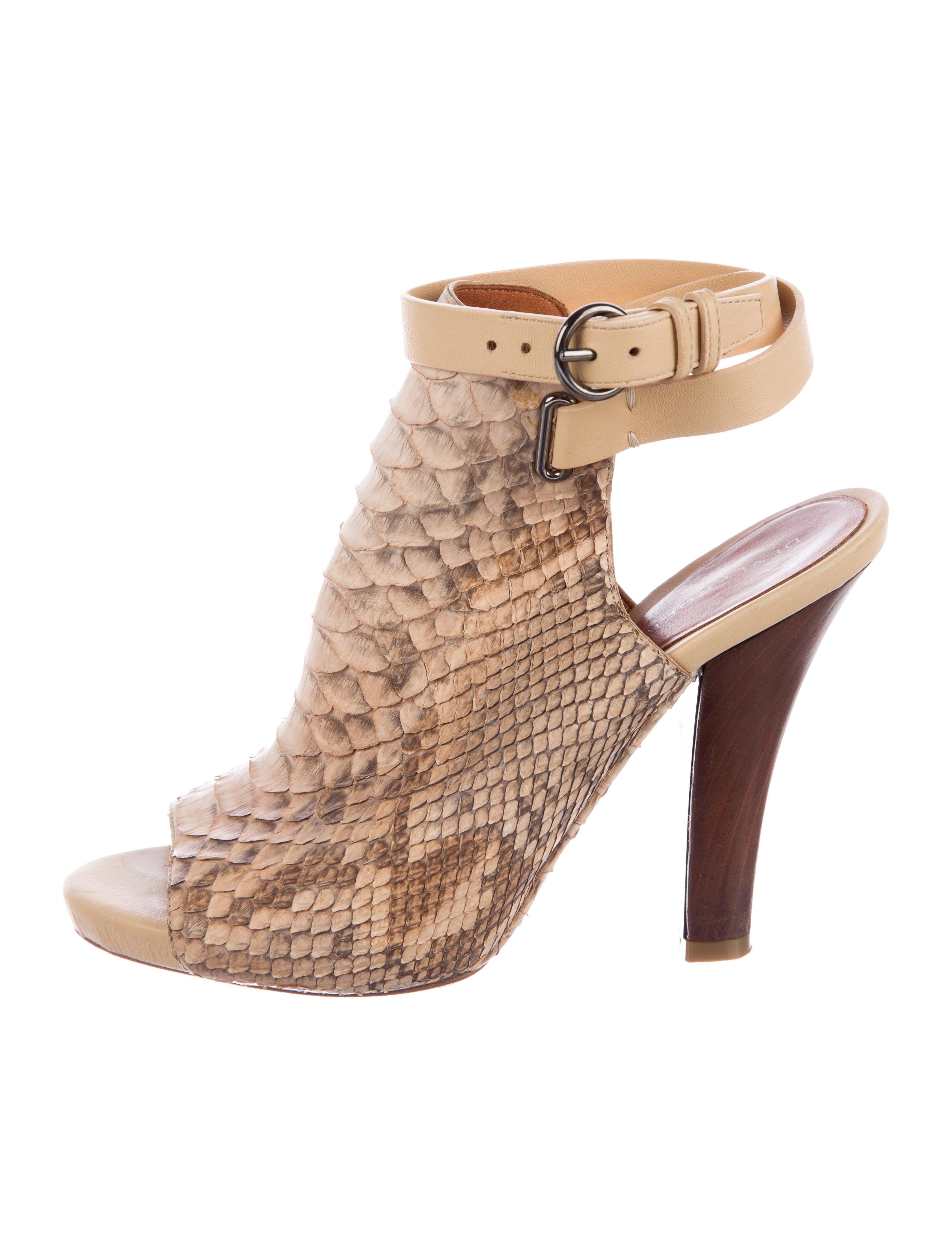 outlet online Devi Kroell Python Glove Sandals best seller sale extremely shopping online outlet sale clearance ebay rKvDd6