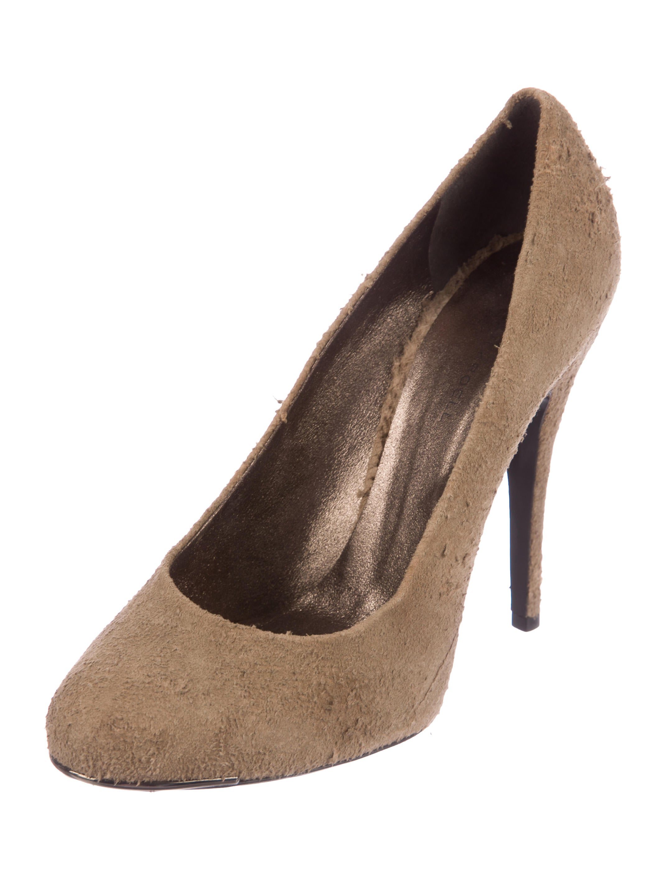 outlet store Locations Devi Kroell Distressed Suede Pumps outlet amazon comfortable cheap price pick a best cheap price manchester great sale cheap price XfnsZ1w