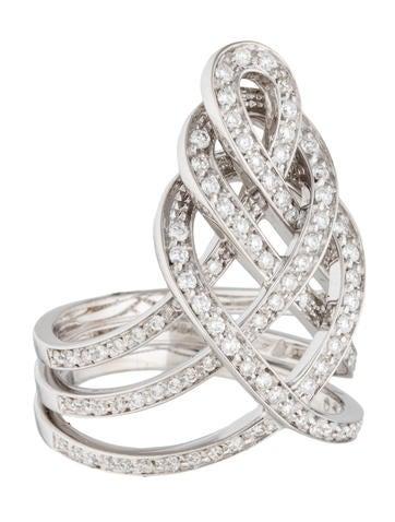 Diamond Woven Ring