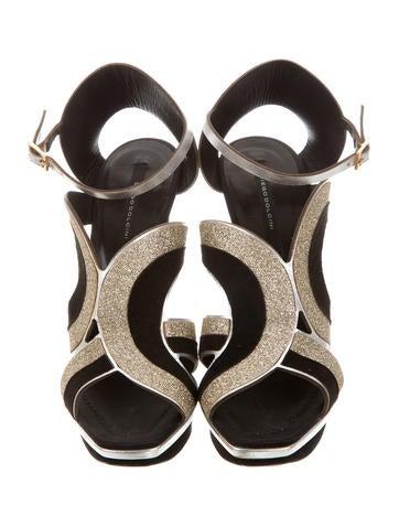 Diego Dolcini Caged Platform Sandals outlet best sale for sale IDlgJFot