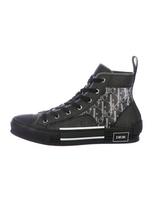 Dior MEN B23 Oblique Sneakers w/ Tags Black