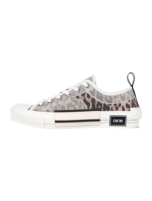 Dior MEN B23 Leopard Low Sneakers Leopard