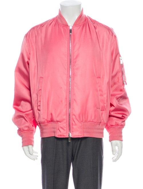 Dior MEN 2019 Bomber Bomber Jacket Pink