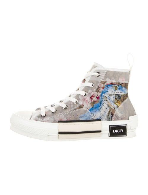 Dior MEN x Sorayama B23 High Sneakers White
