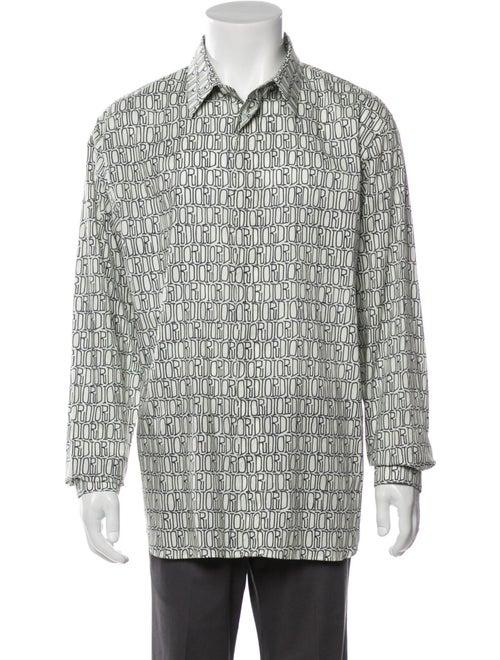 Dior MEN 2020 x Shawn Stussy Linear Logo Shirt w/