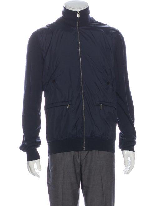 Dunhill Bomber Jacket Blue