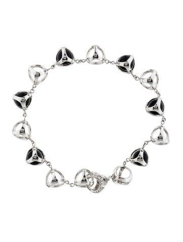 Di Modolo 18K Onyx & Diamond Triadra Bracelet