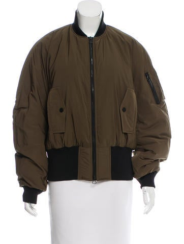 Dion Lee Lightweight Bomber Jacket None