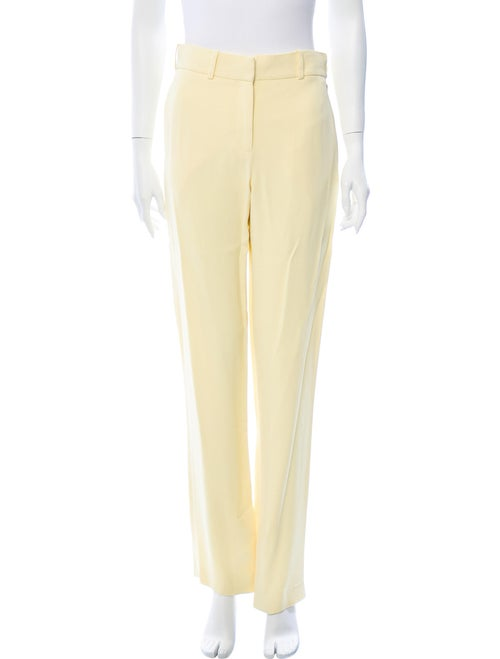 Dion Lee Straight Leg Pants Yellow