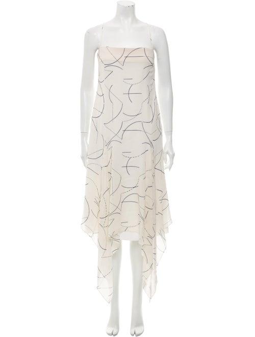 Dion Lee Silk Long Dress