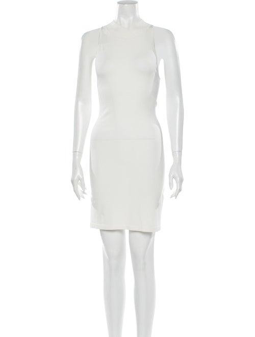 Dion Lee Crew Neck Mini Dress