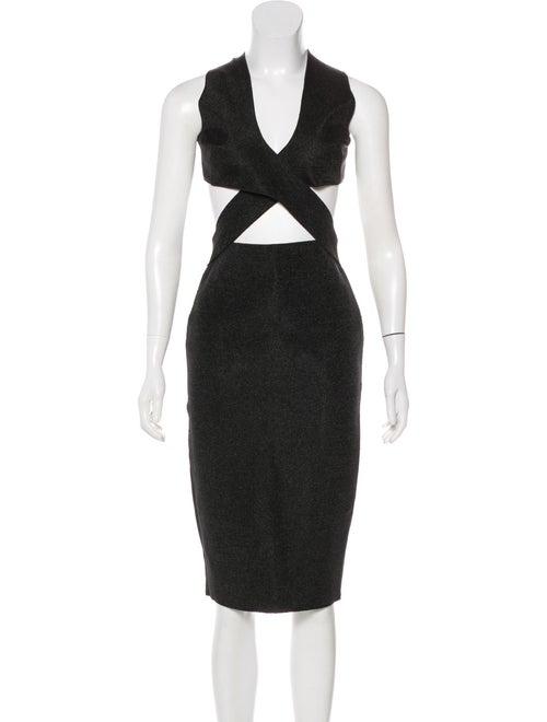 Dion Lee Cutout Sheath Dress Black