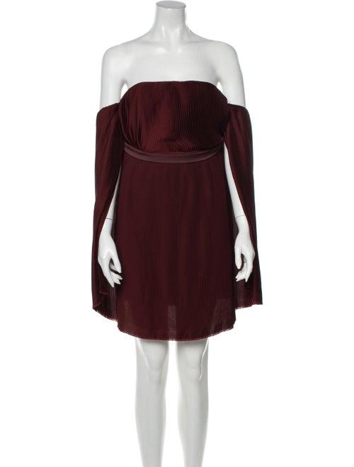 Dion Lee Strapless Mini Dress
