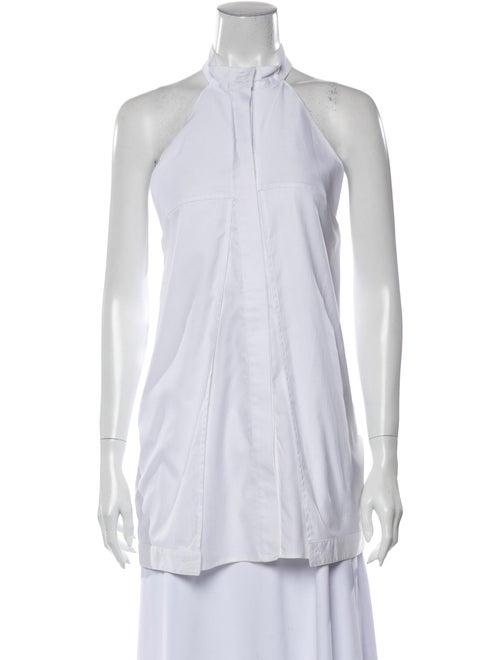 Dion Lee Halterneck Sleeveless Tunic White