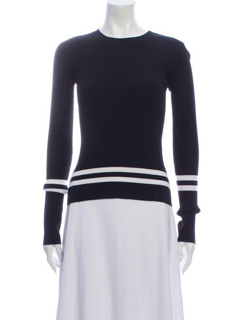 Dion Lee Crew Neck Sweater Black