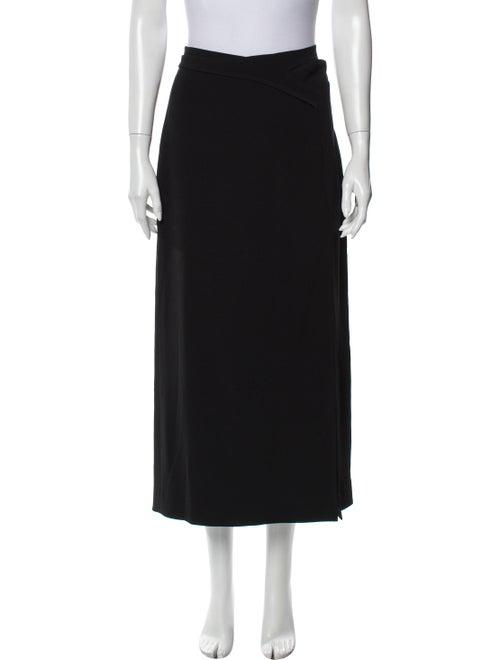 Dion Lee Midi Length Skirt Black