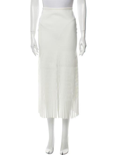 Dion Lee Dion Lee Midi Length Skirt White