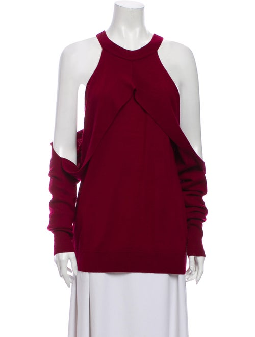 Dion Lee Merino Wool Crew Neck Sweater Wool
