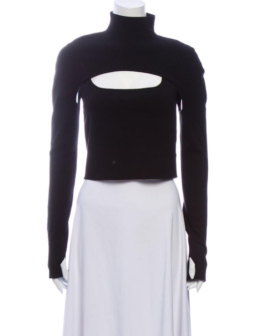 Dion Lee Merino Wool Turtleneck Sweater Wool