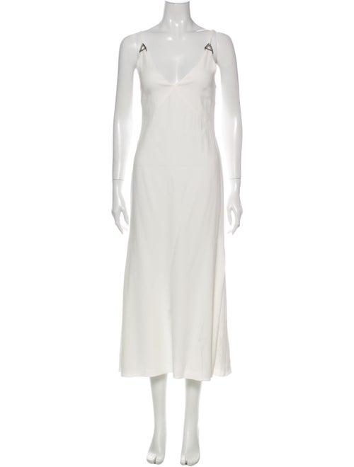 Dion Lee Scoop Neck Long Dress
