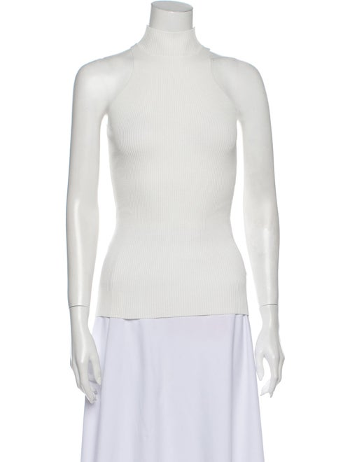 Dion Lee Turtleneck Sweater White