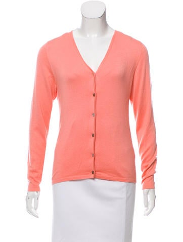 Domenico Vacca Cashmere & Silk-Blend Button-Up Cardigan None