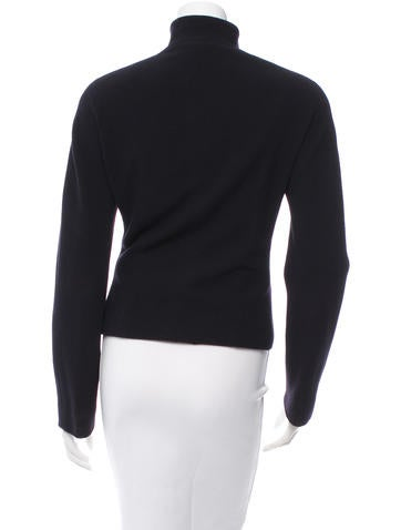 Long Sleeve  Mandarin Collared Blazer