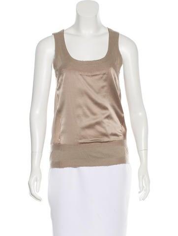 Donna Karan Scoopneck Silk Top w/ Tags